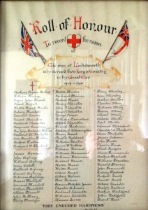Lodsworth Roll of Honour