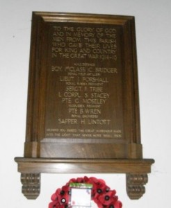 Stedham War Memorial