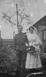 Edward Blunden's wedding